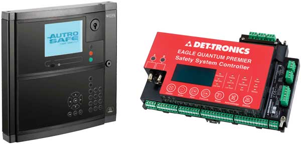 industrial fire gas controllers